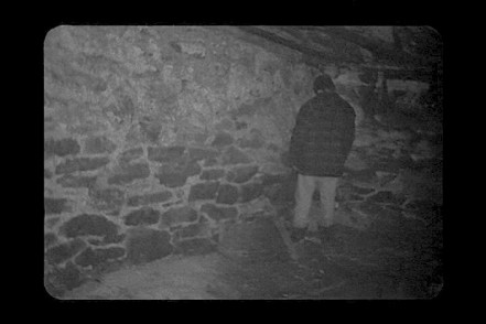This was the only part of Blair Witch that didn't scare me, because I honestly thought he was just peeing in the corner.