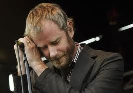 Here's Matt Berninger getting bummed out by his own music.
