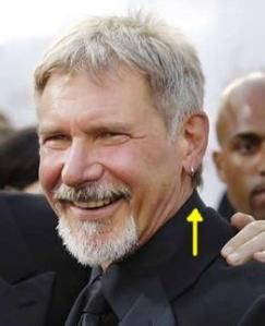Harrison Ford earring