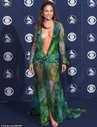 JLo Green Dress