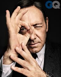 This is how much I care that I dropped the F-bomb on your awards show. I'm Kevin Spacey. Deal with it.